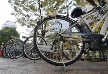 自転車の鍵交換